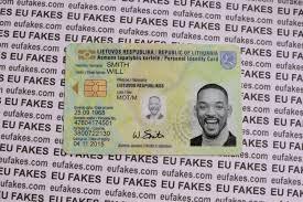 Identity Driving - Eu License Fake Fakes Cards