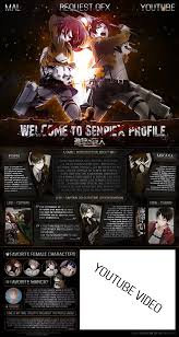 mal profile layouts mal layout attack on titan s2 by senpiex on deviantart