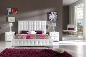 Made in Spain Leather Designer Bedroom feat Light