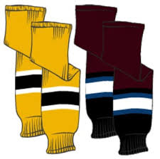 Sp Knitted Ice Hockey Socks Jnr