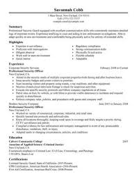 Law Enforcement Resume Template Amazing Impactful Professional Law Enforcement Security Resume Examples
