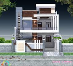 Indian House Designs And Floor Plans 5 Bedroom Flat Roof Contemporary India Home Kerala Home