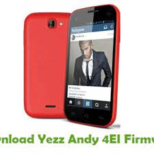Download Yezz Andy 4EI Firmware - Stock ...