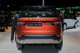 Show Plate Designer New Land Rover Discovery Designer Blames License Plates For