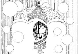Small Picture Rain by azyrielle Return to childhood Coloring pages for