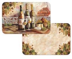 Grapes And Wine Kitchen Decor Grape Kitchen Decor Theme Ceramics Wine Grape Tuscan Canister Miserv
