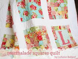 Marmalade Squares Quilt Â« Moda Bake Shop & Marmalade Squares Quilt Adamdwight.com
