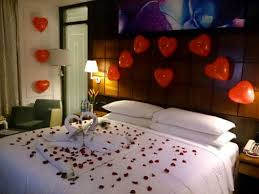 Marriage Bedroom Decoration First Night Room Decor Valentines Day Decoration Ideas New Trends