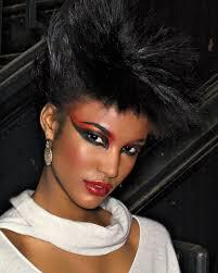 80s inspired makeup look