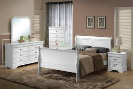semi gloss white bedroom suite 170 w sleigh like queen and king beds black