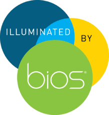 icon lighting. illuminated by bios icon lighting