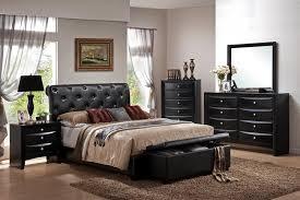 King Size Luxury Aaron's Furniture Bedroom Set