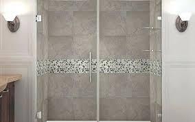 frameless sliding shower door roller and bracket set debuts
