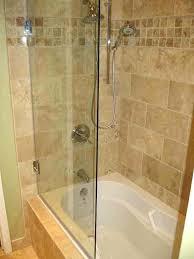 bathroom shower enclosures ideas awesome tub shower enclosures ideas the design bathtub doors within popular glass