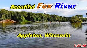 Image result for  the Fox River in Appleton, Wisconsin