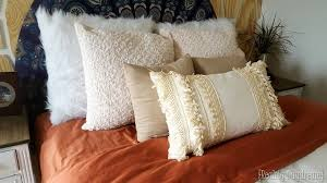 How To Make A Decorative Pillow With Fringe