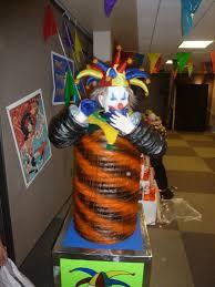 Haunted Idea clown area