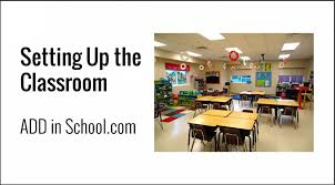 classroom desk arrangements room set up elementary school adhd add in school
