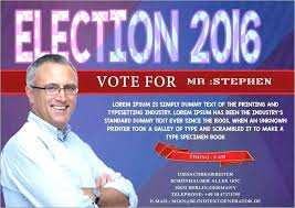 Images Of Campaign Flyer Template Political Design In Word