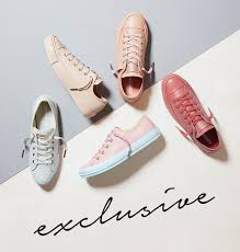 converse egret rose gold. converse all star low leather pastel rose tan gold exclusive - hers trainers egret