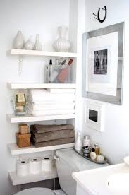 Small Bathroom Storage Ideas Beauteous Mini Salle De Bain Mission Rangement DIY Inside Madame R