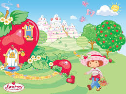 1500x1500 strawberry shortcake hd wallpaper brands desktop wallpaper