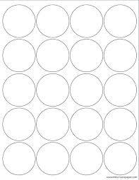 4 Circle Venn Diagram Template Venn Diagram Word Template Round Sticker Printing Template 4 Circle