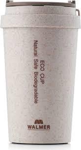 <b>Кружка</b> дорожная Walmer <b>Eco Cup</b>, W24201804, бежевый, 400 мл