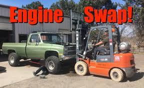Live! Chevy Performance Engine Swap: Big Green Chevy K10 Truck ...