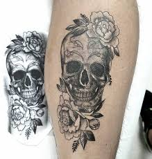 Mexican Skull Artist Steven Piscopo Tattoo Piercing Barbershop