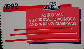 chevy truck wiring 1992 chevy truck astro van electrical diagnosis and wiring diagrams