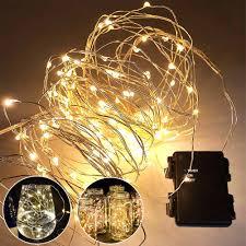 Battery Powered Outdoor Globe Lights Battery Operated Outdoor String Lights Lighting Indoor Plug