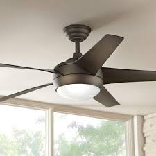 windward iv 52 in indoor oil rubbed bronze ceiling fan with light kit and remote control