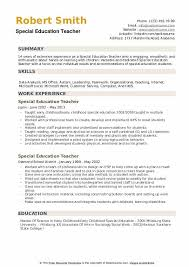 Resume Education Examples Education Teacher Resume Samples Qwikresume