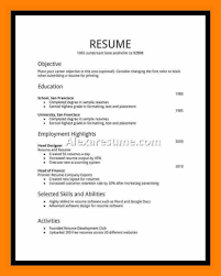 6 Student Resumes For First Job New Tech Timeline