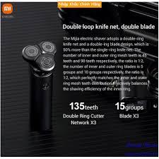Máy cạo râu Xiaomi Electric Shaver Mijia S500 3 đầu - Bảo hành 3 tháng -  Dụng cụ cạo râu