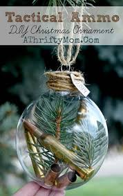 DIY Ammo Christmas Ornament: Create your own ornaments with a simple  Chinoiserie pattern allows you