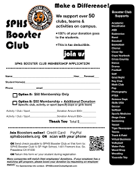 Join Sphs Booster Club South Pasadena High School Tiger