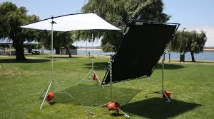 Outdoor Interview Lighting Diffusion Types