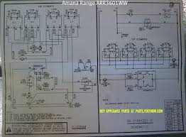 ovens ranges stoves appliantology amana range model arr3601ww schematic and wiring diagram