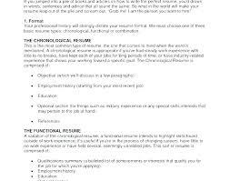 Resume Proper Format Proper Resume Format How To Write A Proper