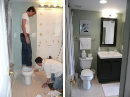 simple bathroom remodel. Small Bathroom Remodels Before And After Photo Design Your Home Simple Remodel