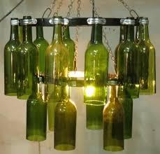 wine bottle chandelier wine bottles chandelier manufacturer from new delhi