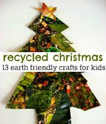 How To Make Recycled Christmas Tree OrnamentsChristmas Crafts From Recycled Materials