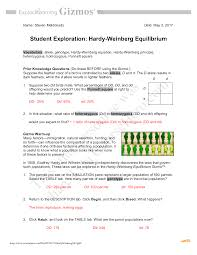 We did not find results for: Questions And Answers Gizmos Student Exploration Hardy Weinberg Equilibrium