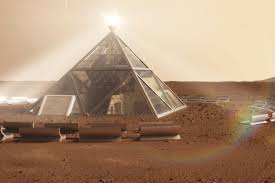 Pyramid Houses Pyramid And Human Beehives Designed For Mars Dwellers Ars Technica