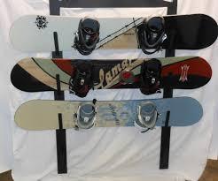 image of snowboard rack diy