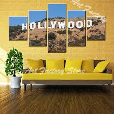 hollywood sign wall art fresh magnificent hollywood wall art ensign art wall decor hecatalog of