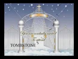 Unveiling Invitations Tombstone Unveiling Video Invitation