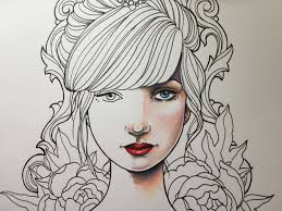 How I Color A Face Video Colouring Pinterest Face